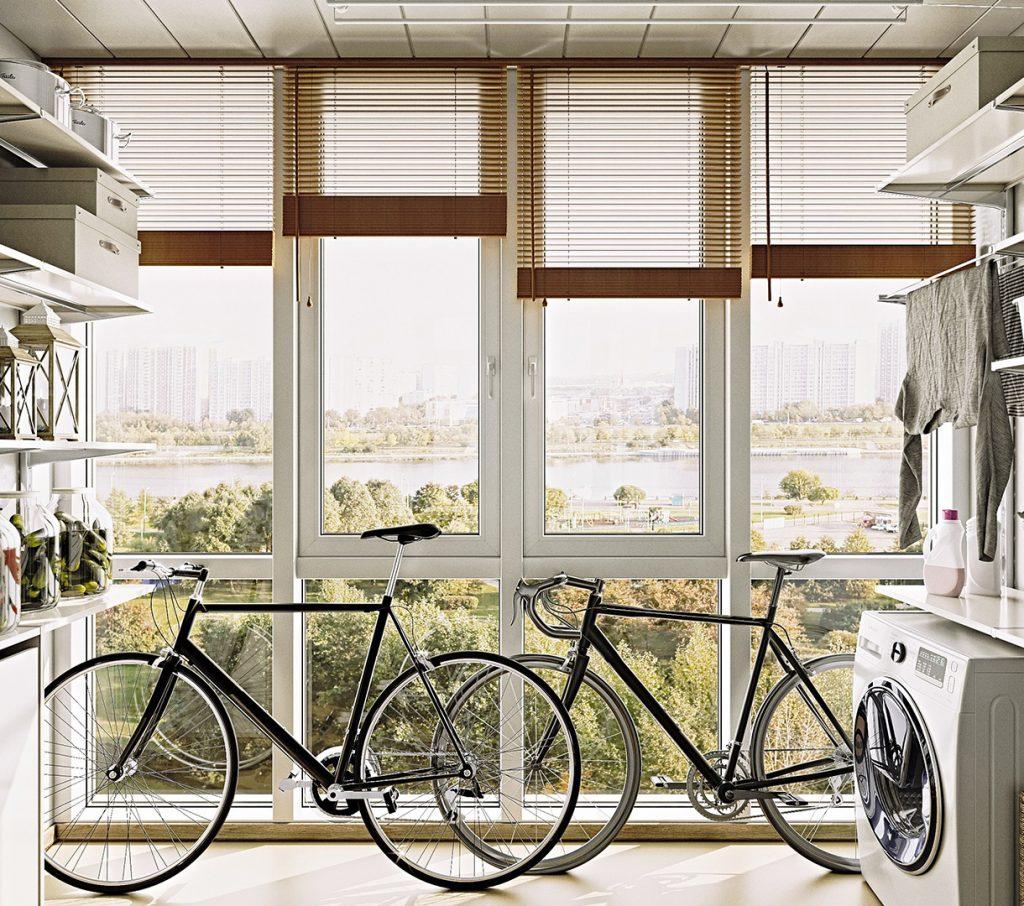 для хранения велосипеда